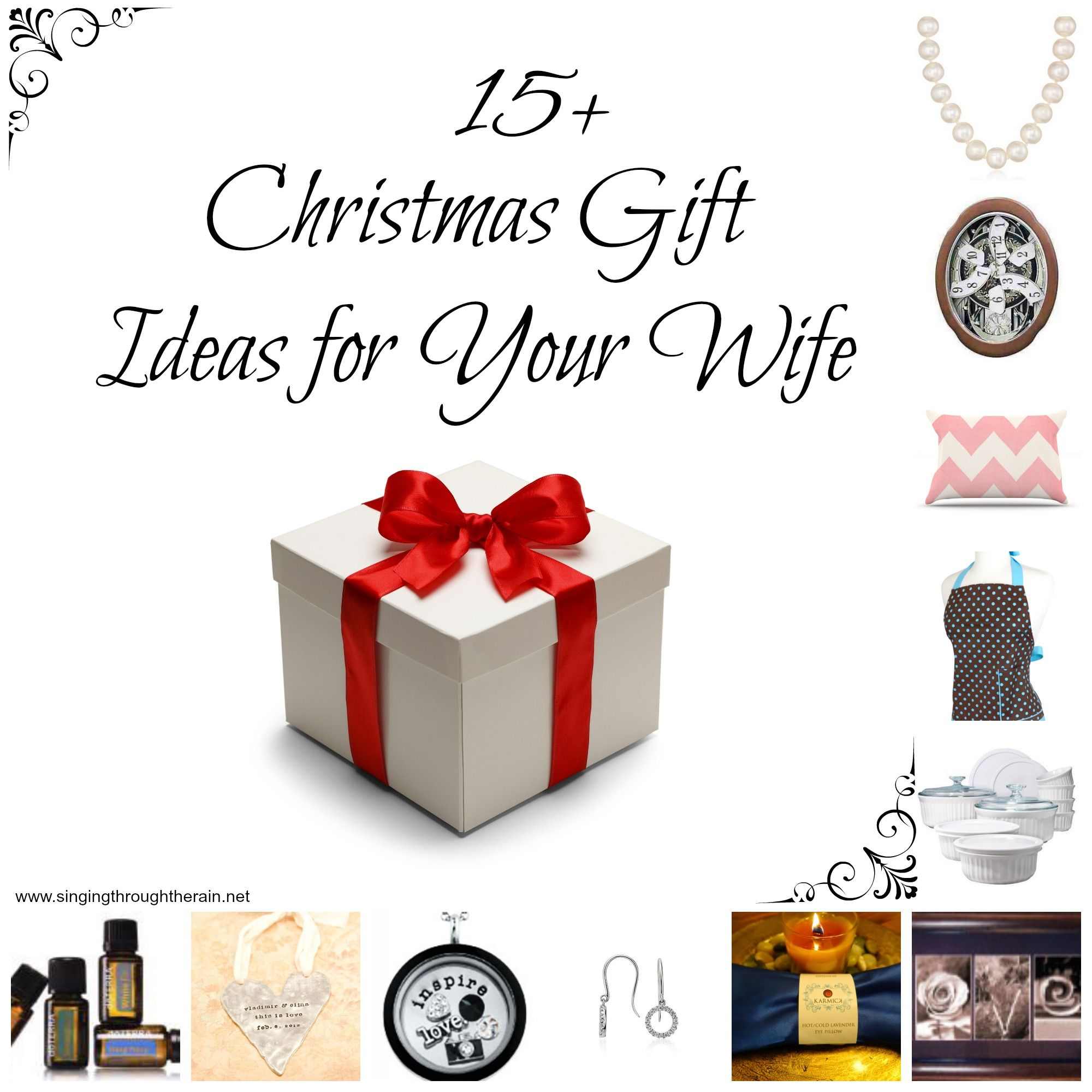 15 Christmas Gift Ideas For Your Wife  Husbands Looking