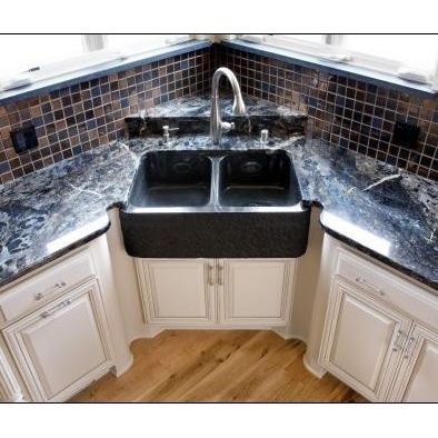 Peninsula Sink Design Ideas Pictures Remodel And Decor Corner Sink Kitchen Modern Kitchen Design Corner Sink