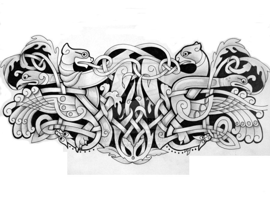 Viking Armband Tattoo Designs: (so Much Better Than Barbed Wire