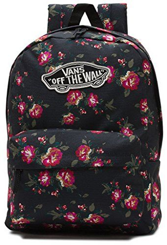 Womens Realm Floral Vn0nz0ks6 Black Vans Backpack Check k0PXZNwnO8