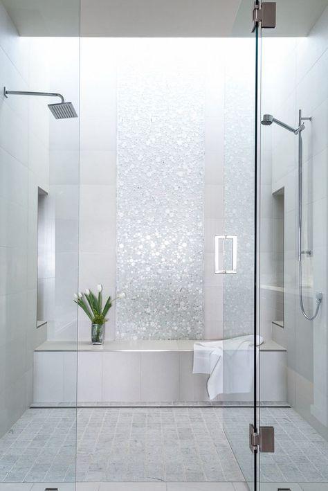 100 idee di bagni moderni bagno cuarto de ba o ba os e ba os mosaico - Vasca da bagno circolare ...