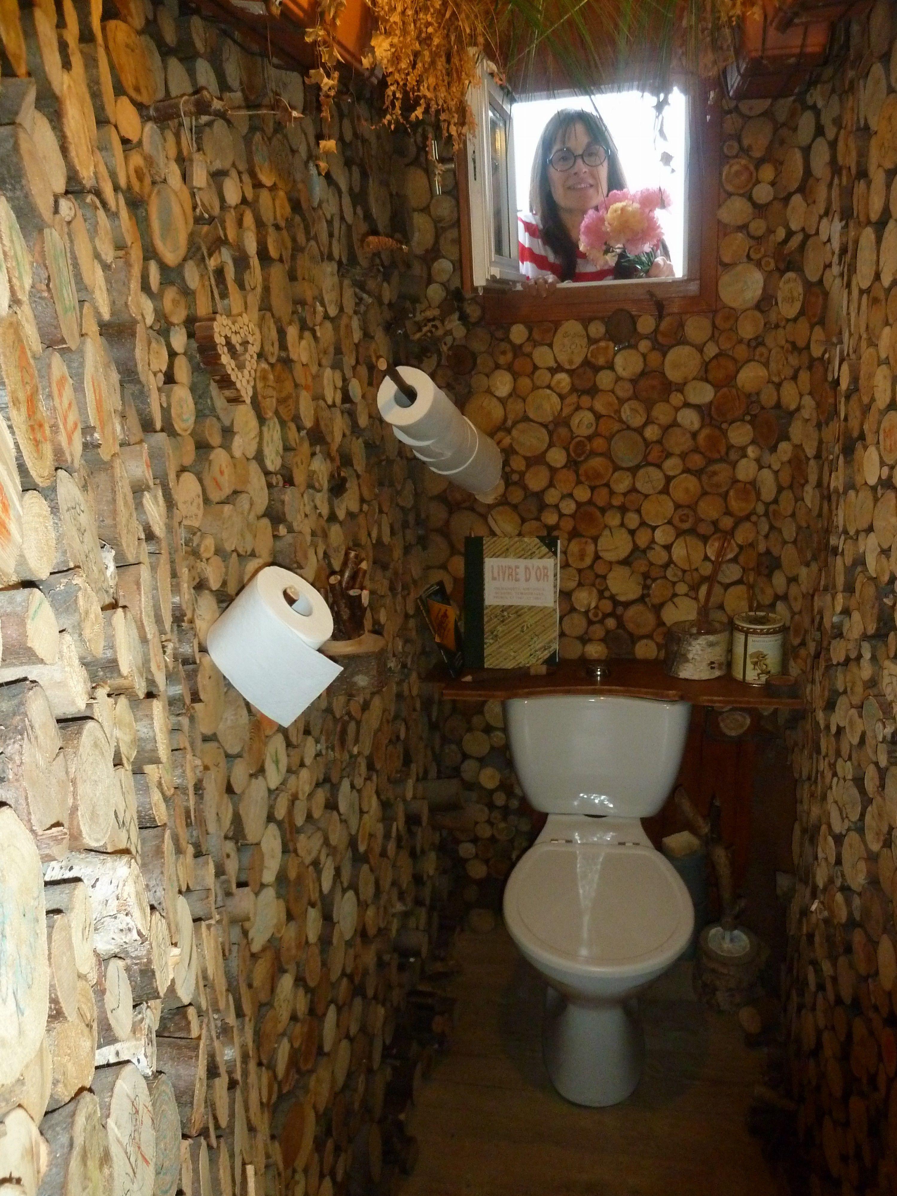 Toilette bois et nature | Toilettes créatives | Pinterest | Toilette ...