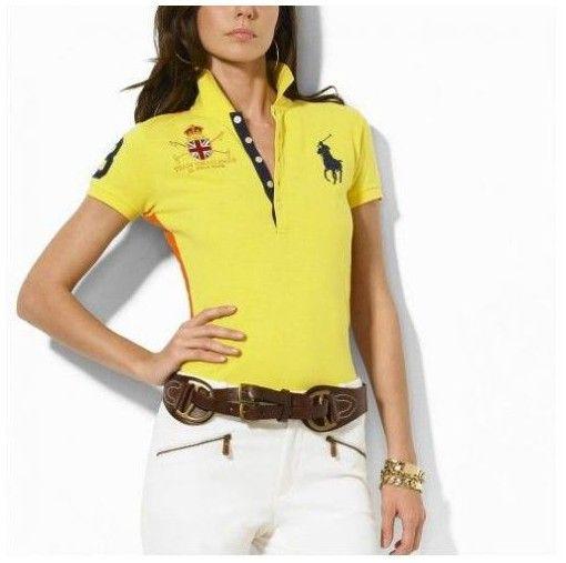 ralph lauren store online! acheter chemise femme ralph lauren Big Pony Mesh  aquarelle colorée Polo lauren1531 2c47ca0702a