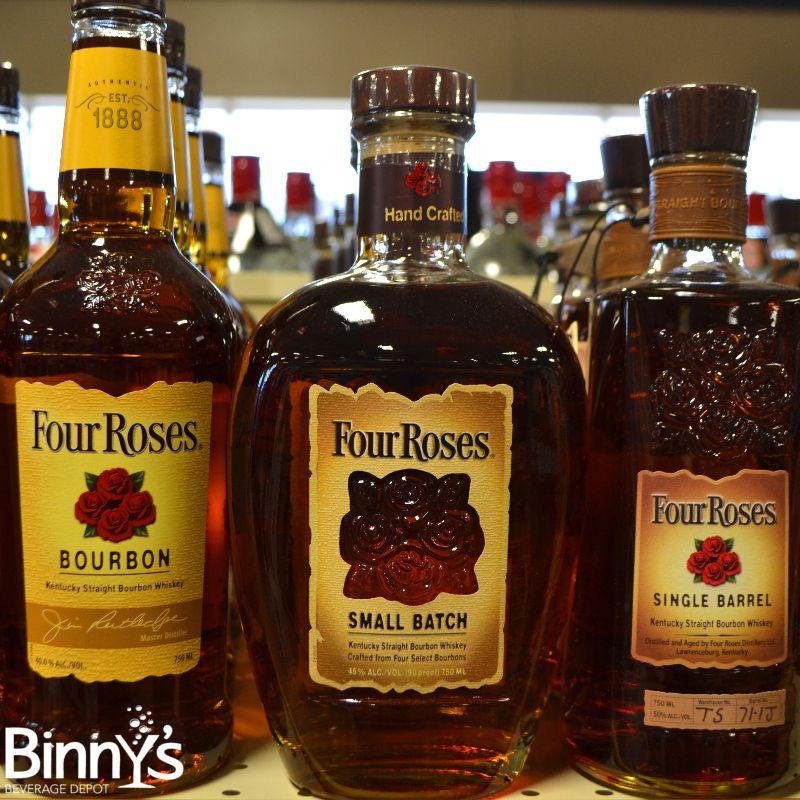 Everyone loves roses . . . #bourbon #whiskey #fourroses