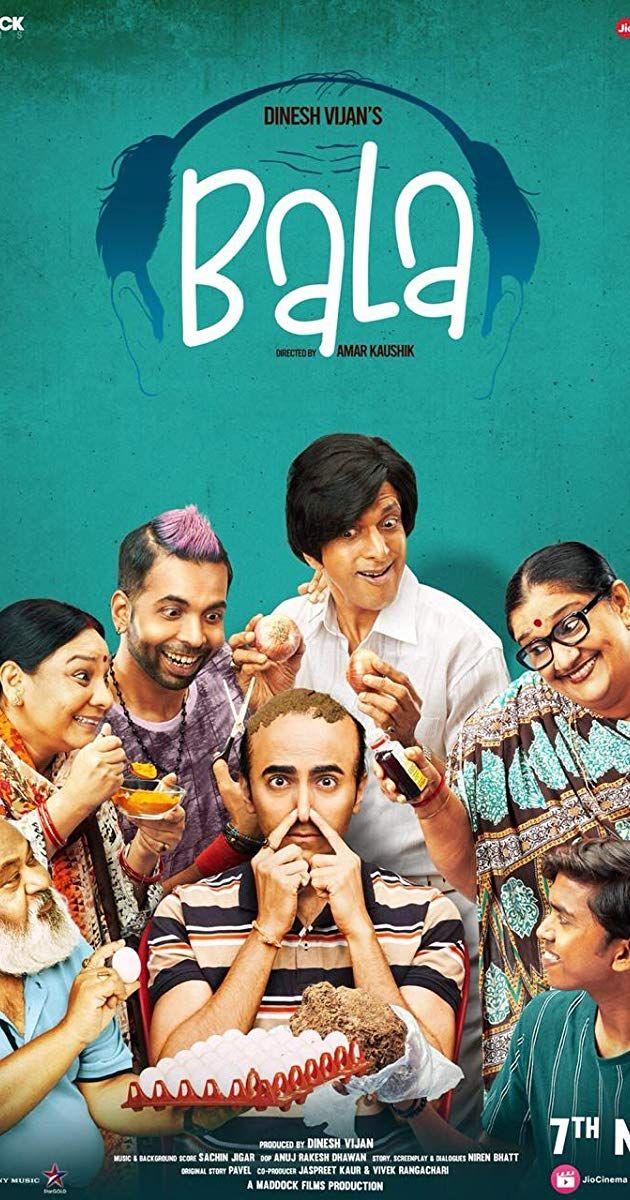 Bala 2019 Hindi 720p 480p Pdvdrip Comedy Movies Movies Online Free Film Musical Movies