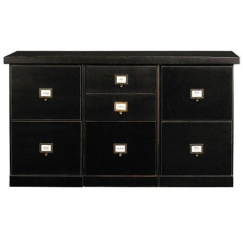 Lovely Original Home Office™ 3 Cabinet Credenza