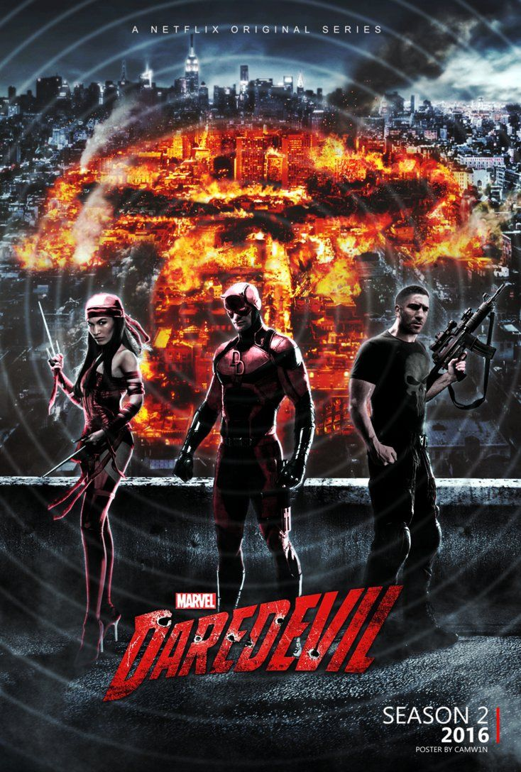 Daredevil - Season 2 Poster (2016) by CAMW1N | Daredevil ...