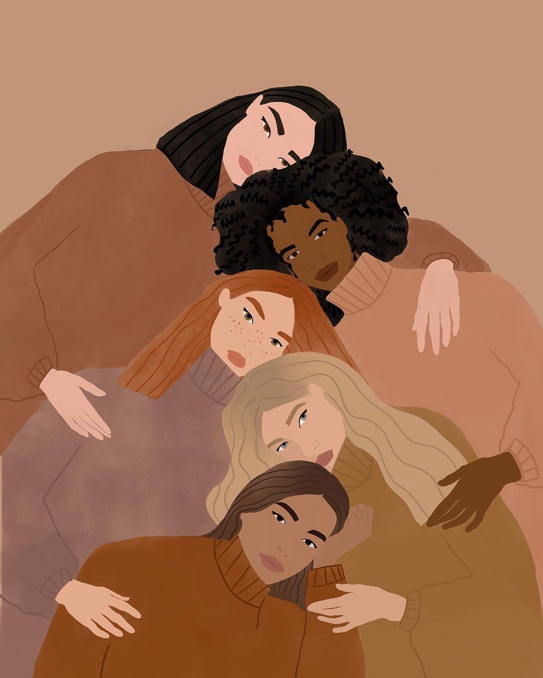 """Carla Llanos auf Instagram: """"Füllen Sie das Feld"""" Wenn Frauen Frauen unterstützen ___________... #history"""