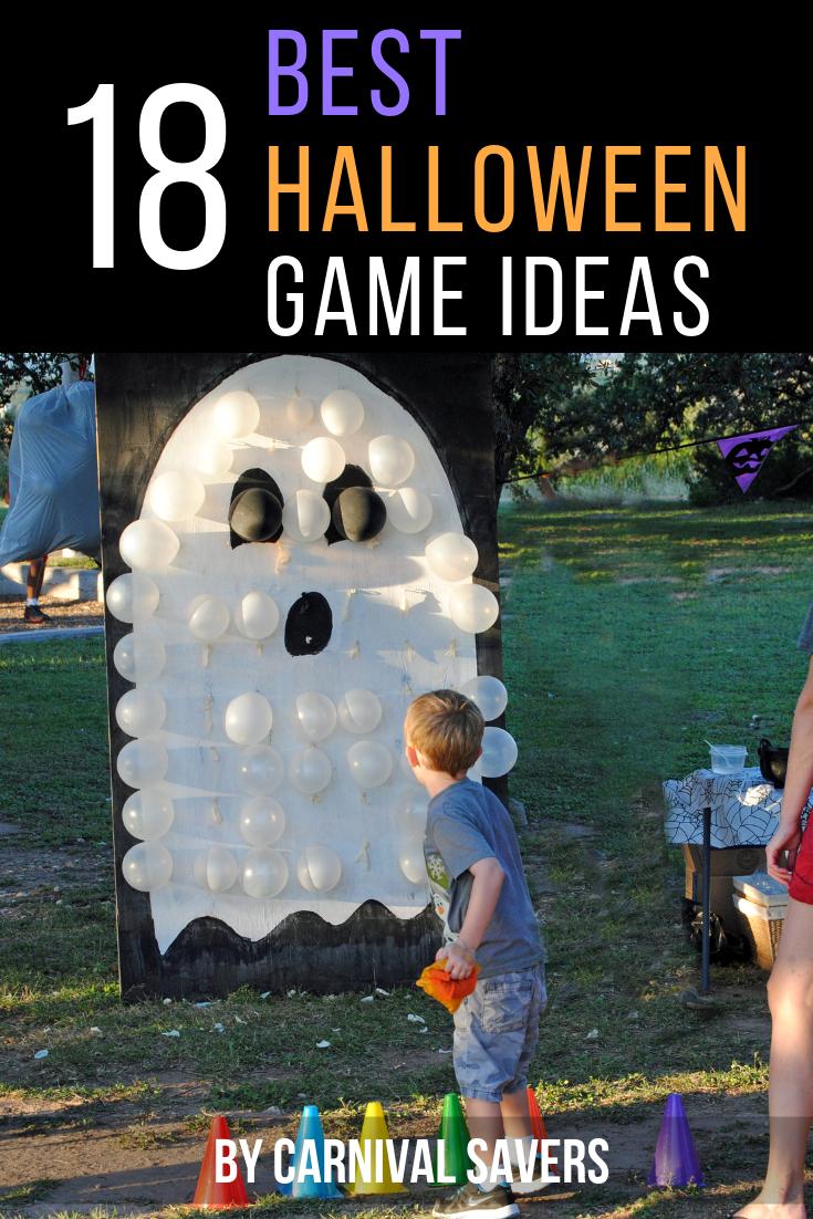 FREE Halloween Game Ideas - DIY & Easy Halloween Games!