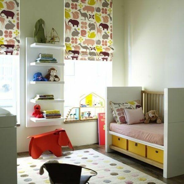 Verdunkelungsrollo Kinderzimmer verdunkelungsrollo kinderzimmer bunte muster und ideen