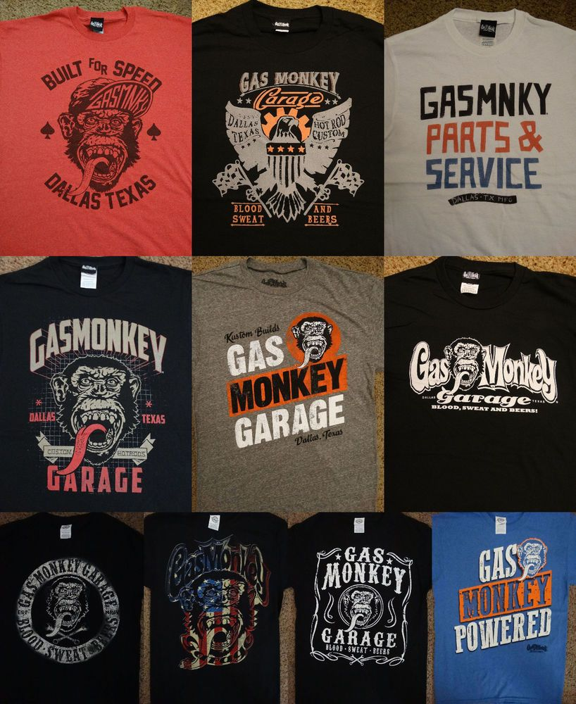 Details About Fast N Loud Discovery Tv Show Gas Monkey Garage