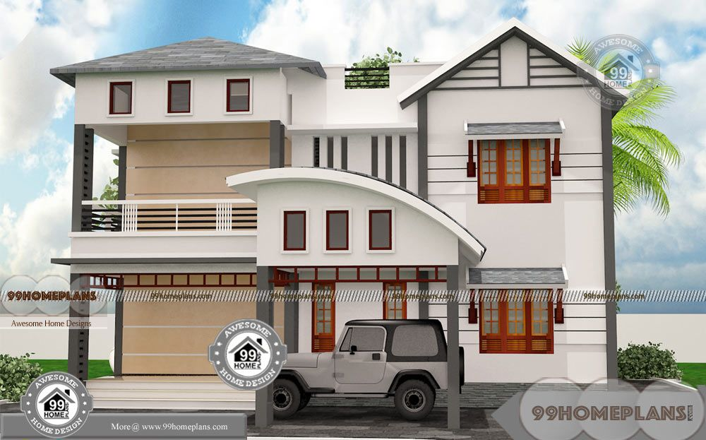 1500 Sq Ft Bungalow Plans With Double Floor Simple Low Rate Houses Affordable House Plans Unique House Plans Small House Design Plans