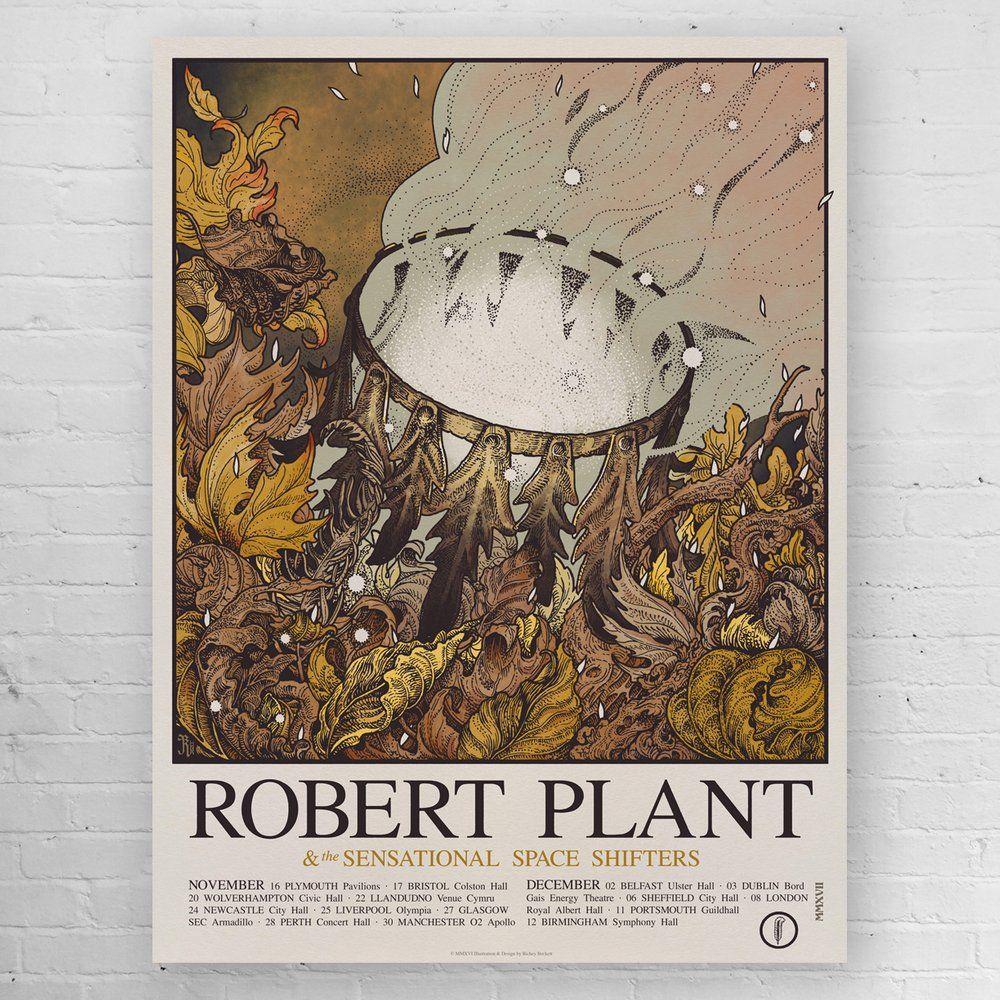 """""""Robert Plant UK Tour 2017"""" by Richey Beckett Robert"""