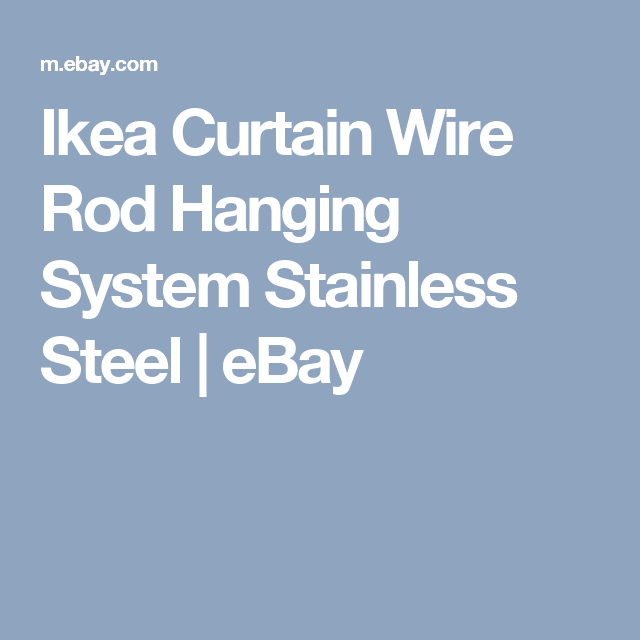 Curtain Wire Hanging System | Flisol Home