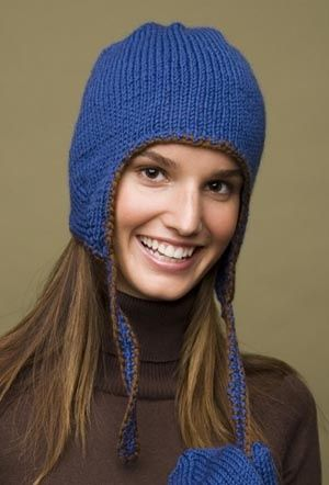Earflap Hat- I\'ve made a few of these, easy to change up and add ...