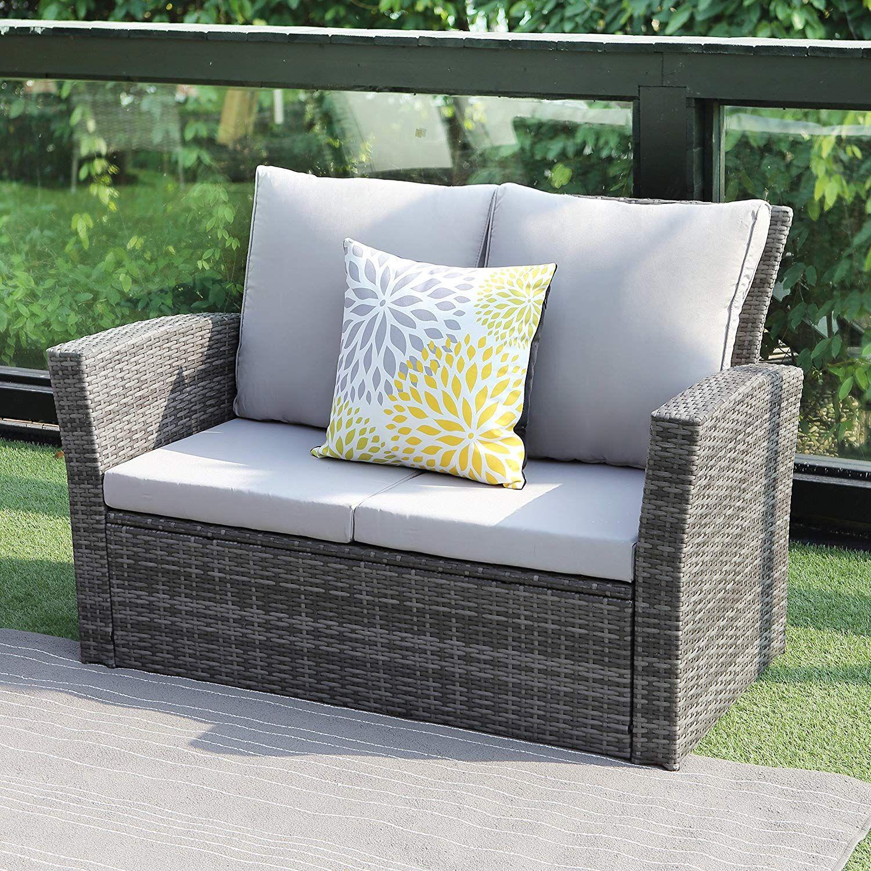 Amazon Com Wisteria Lane 5 Piece Outdoor Patio Furniture Sets