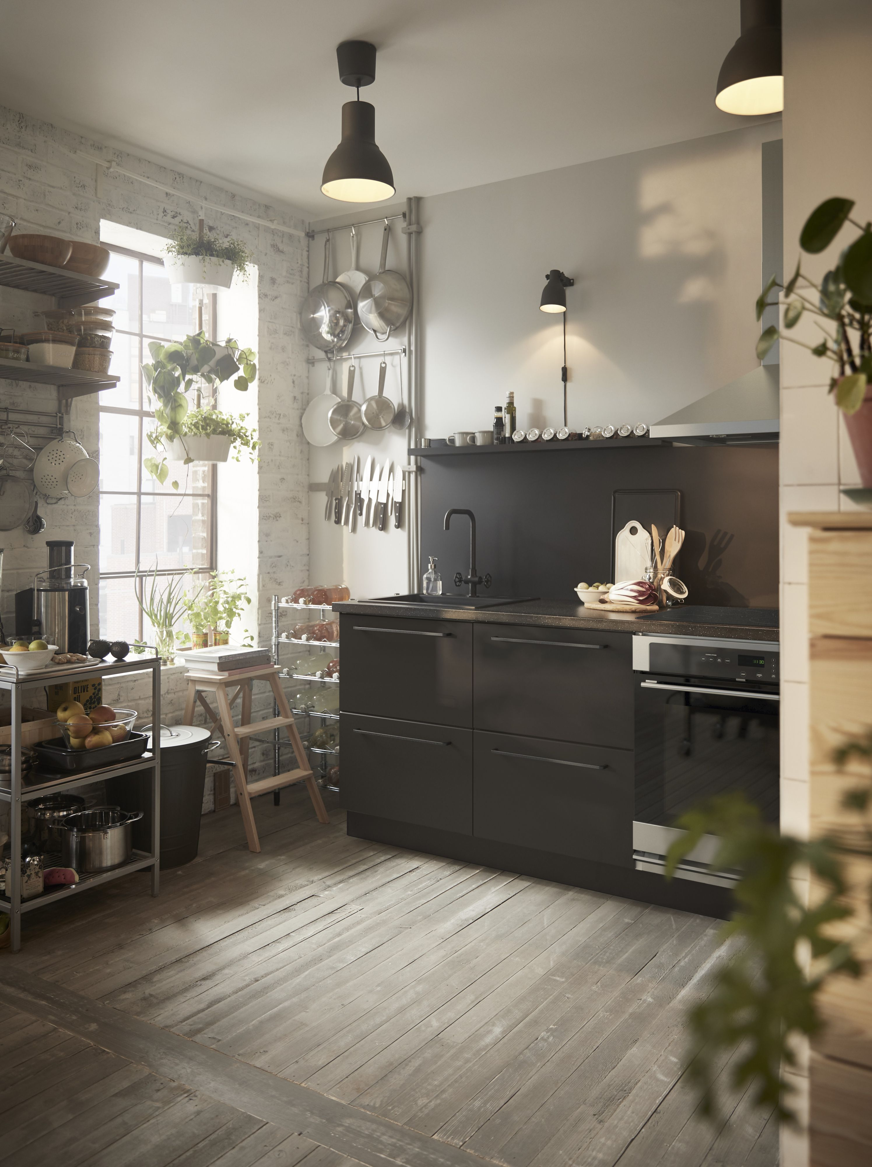 These Sektion Kungsbacka Cabinets Can Give Your Kitchen An Environmentally Friendly Feel Because They Re Made From Recycled Ikea Inspiration Ikea Catalog Home