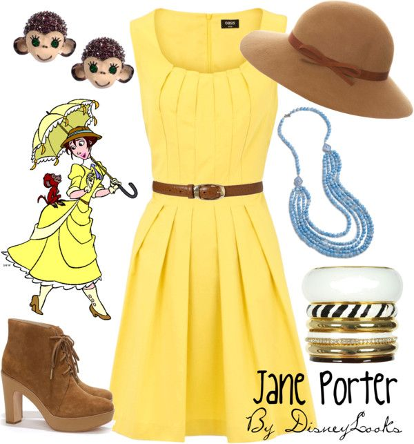 """Jane Porter"" By Disneylooks Liked On Polyvore"