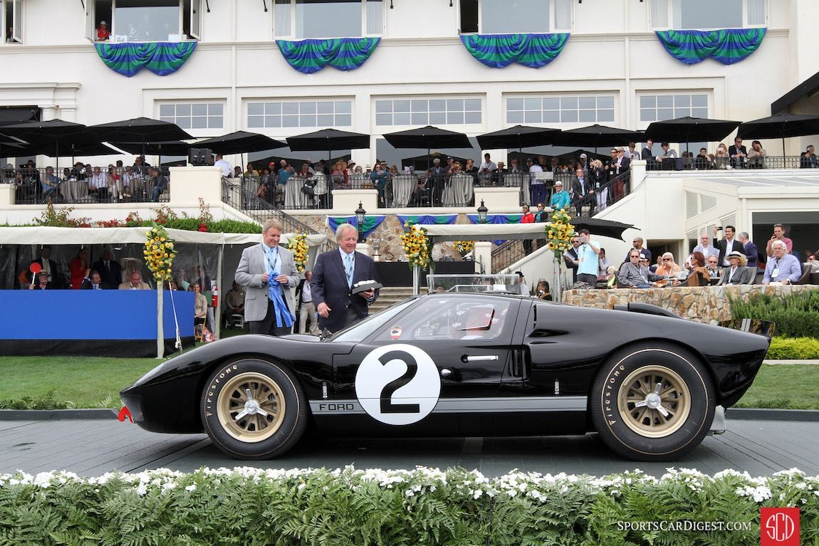 Ford Gt40 P 1046 Mk Ii Placed First At The 24 Hours Of Le Mans In