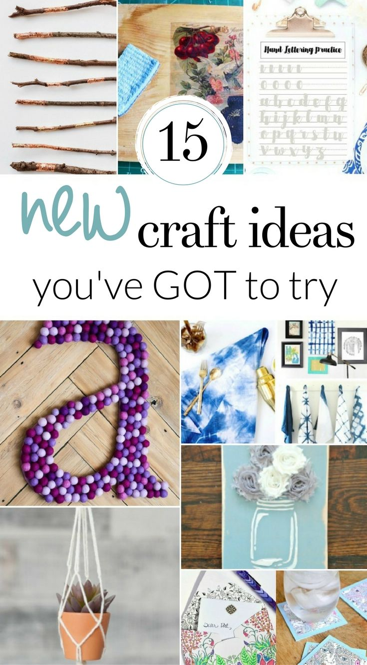 15 New Craft Ideas you NEED to Try in 2020 Easy arts