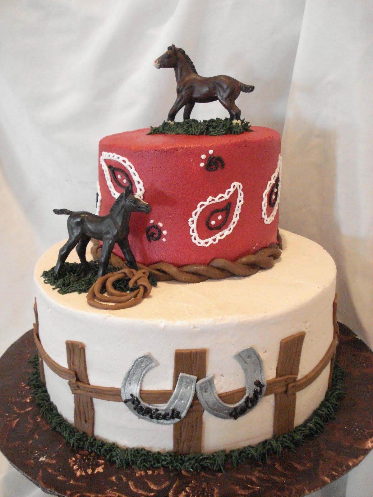 Horse Themed Birthday Cakes Google Search Cake Decorating In