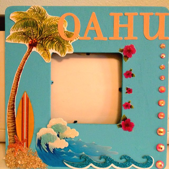 Hawaii Frame 1 Wood Picture Frame From Michaels Americana Indian