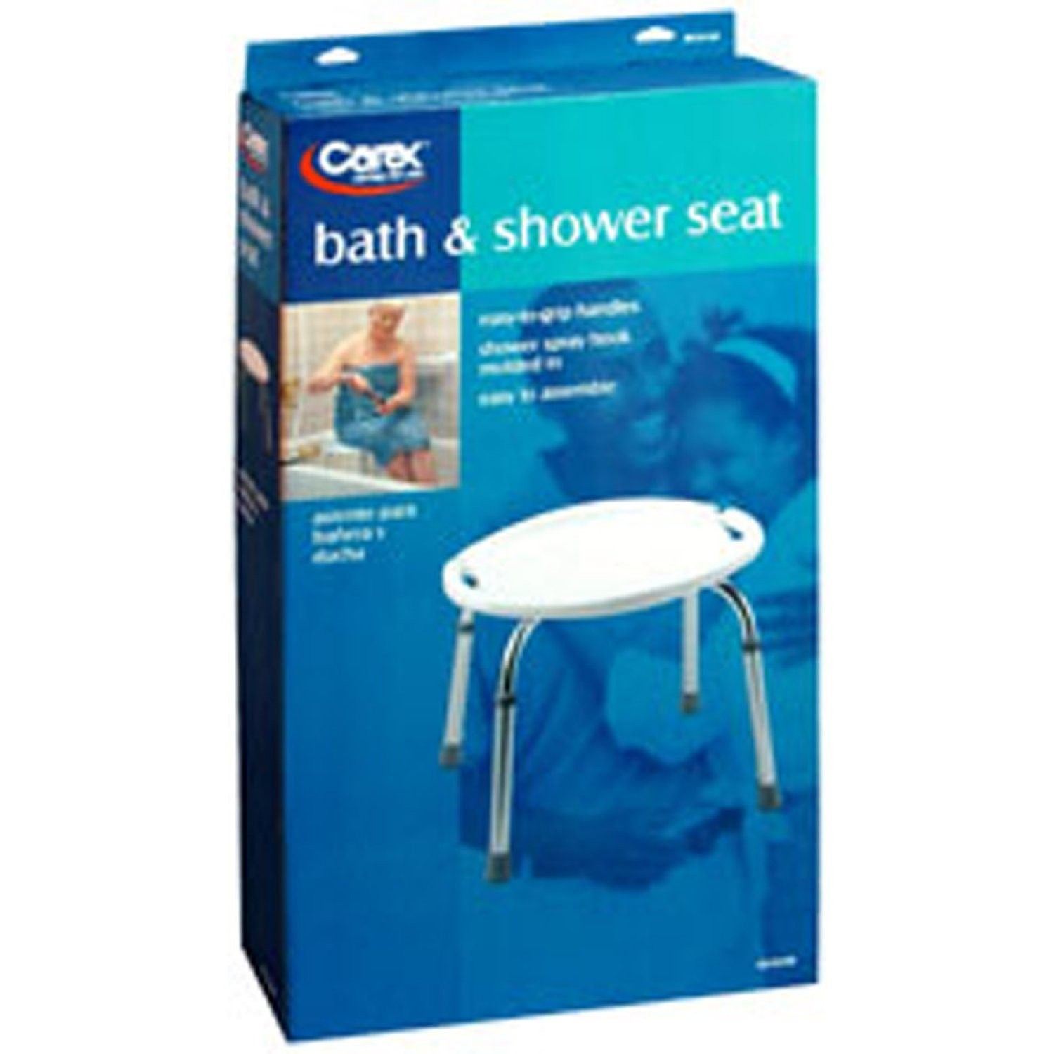 carex adjustable bath amp shower seat rite aid and backrest item ...