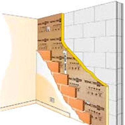 Construire En Bloc Béton, Isolation Par L'Intérieur Et Plâtrerie