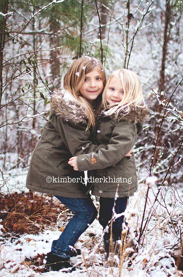 Winter Girls! Kimberly Dierkhising Photography   Raleigh Family Children Senior Photographer: Family