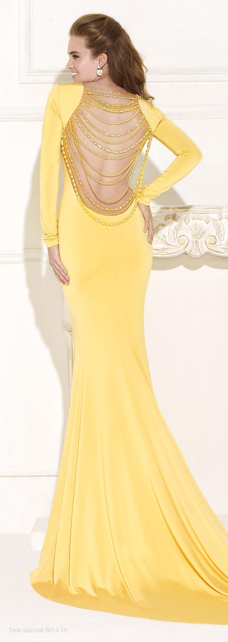 Espalda the yellow fashion pinterest lovely dresses uk