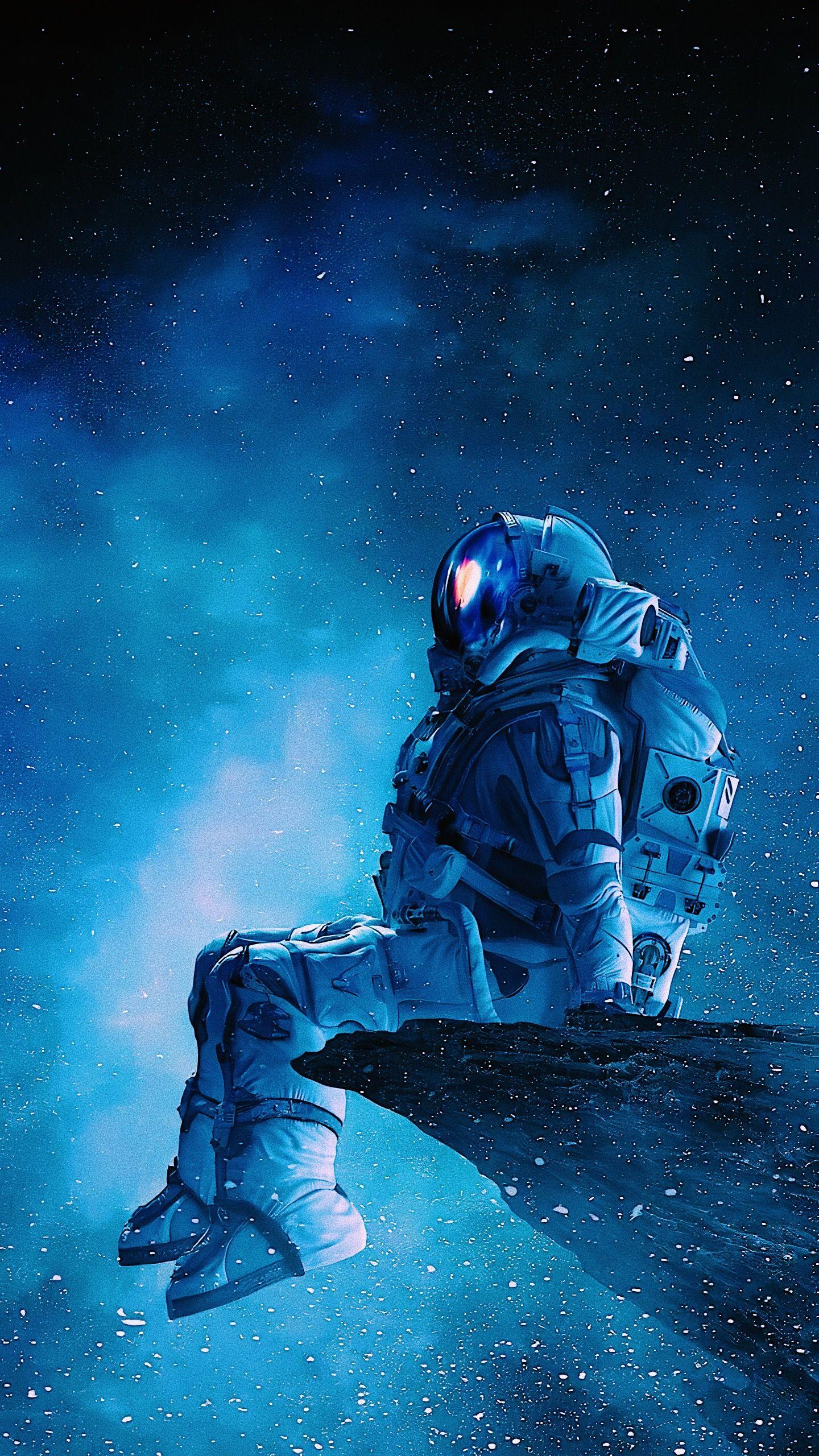 Galaxy Wallpaper Astronaut Wallpaper Space Artwork Space Art
