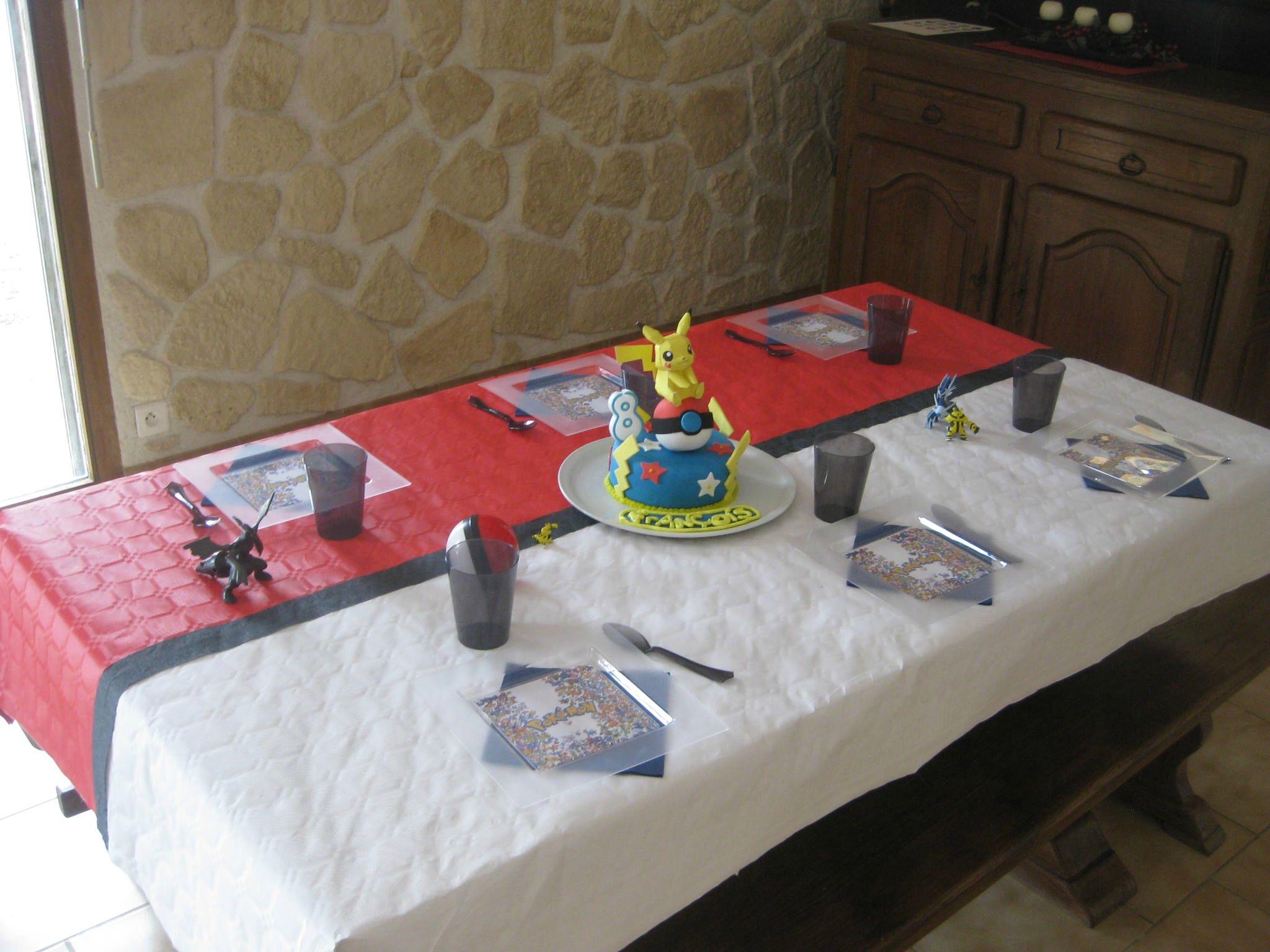 Favori Une belle table d'anniversaire Pokemon | anniv pokemon | Pinterest  LX45