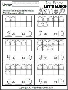 Kids. free kindergarten worksheets math: Printable Kindergarten ...