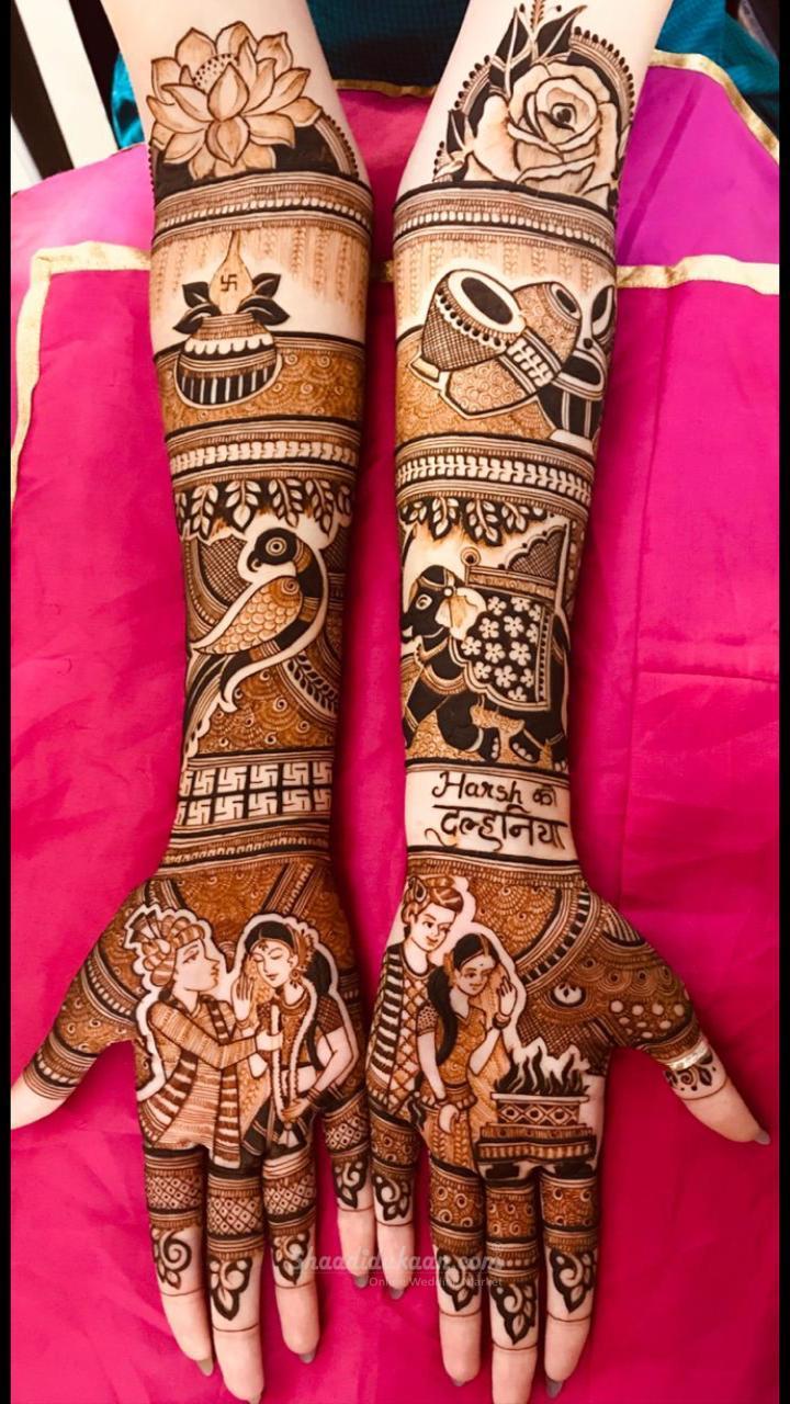 Heavy Bridal Mehandi Design Engagement Mehndi Designs Latest Bridal Mehndi Designs Dulhan Mehndi Designs