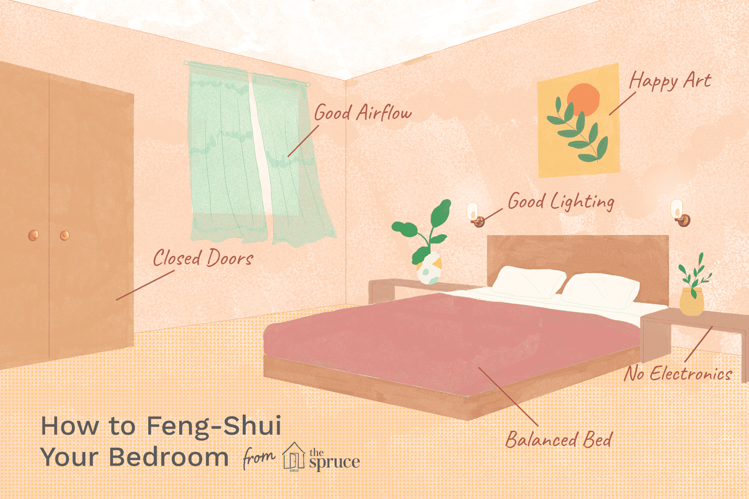 Feng Shui Your Bedroom With These Nine Easy Steps in 2020