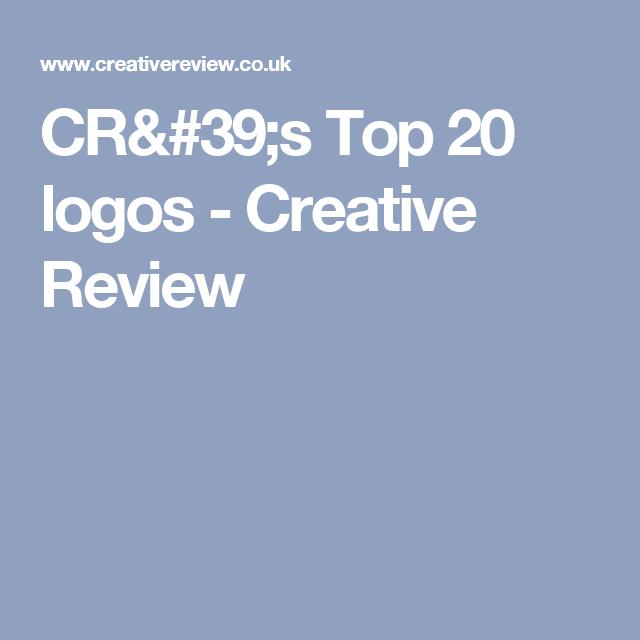 CR's Top 20 logos - Creative Review