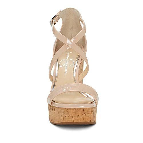 a669dcfbf Jessica Simpson Stassi Platform Wedge Sandal - Metallic   Products ...