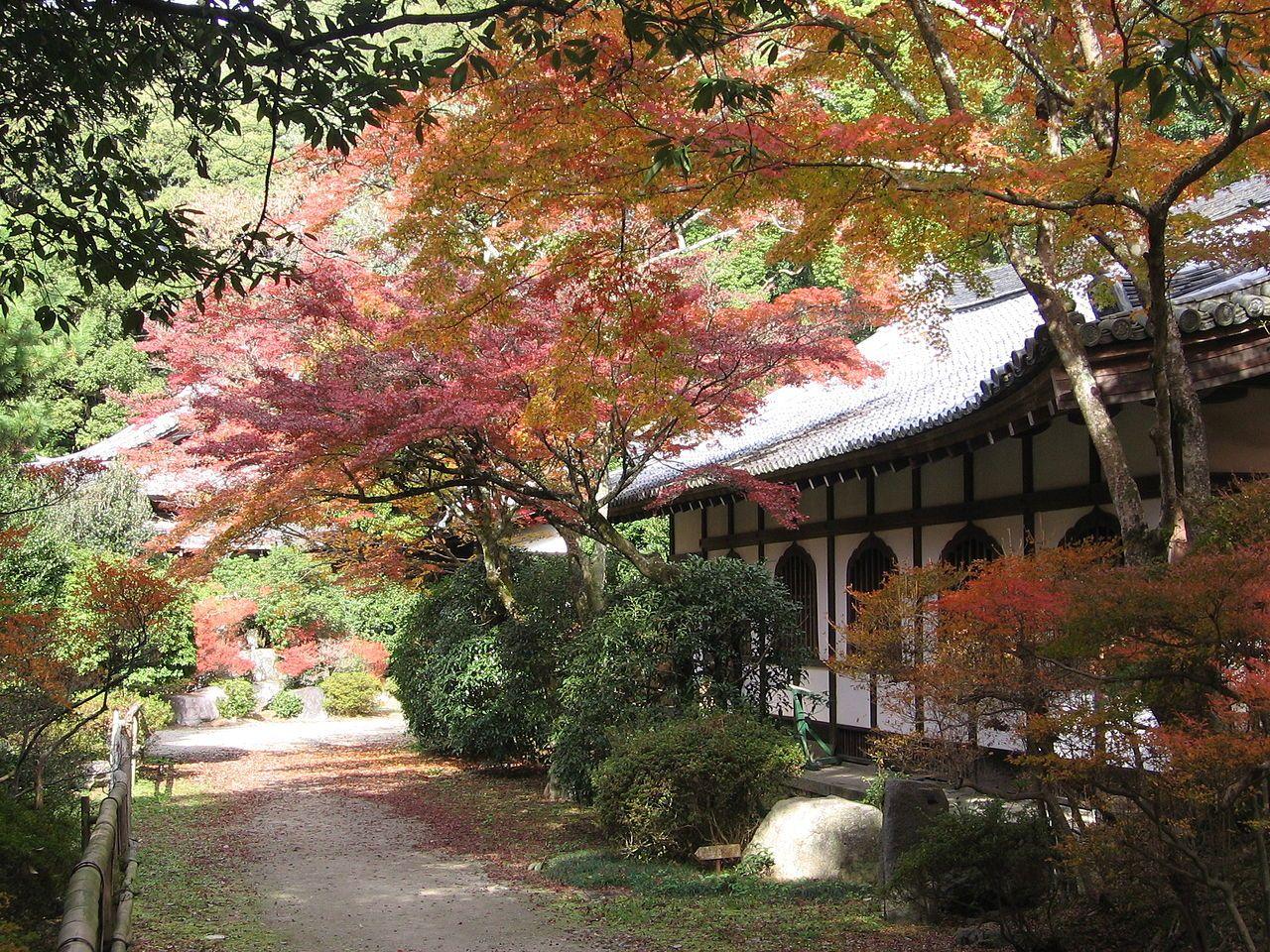 Momiji Daigoji4 - Japanese garden - Wikipedia   Artstation - Feudal ...