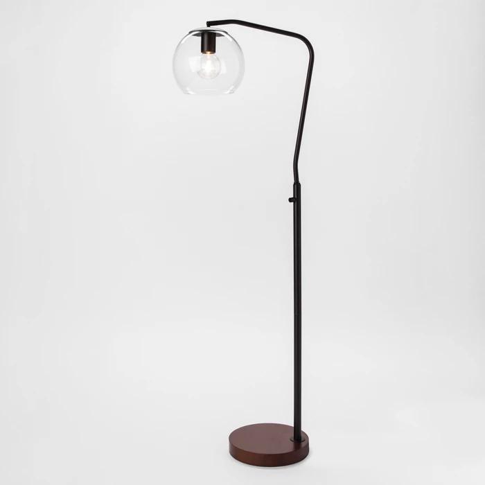 Madrot Glass Globe Floor Lamp Project 62 Black Floor Lamp Target Floor Lamps Globe Floor Lamp