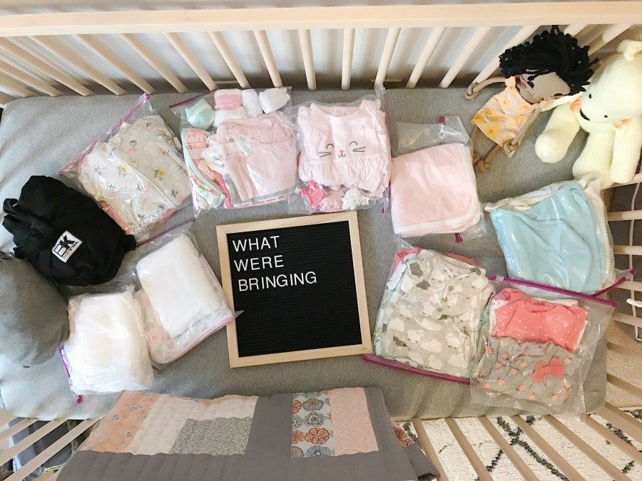 Traveling To Baby // Our adoption packing list via hello