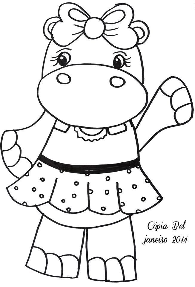 nice Coloring Pages Baby Hippos, Cool Coloring Pages Baby ...