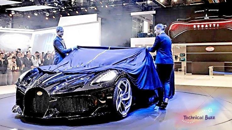 Bugatti Launch New Bugatti La Voiture Noire Is The Most Expensive