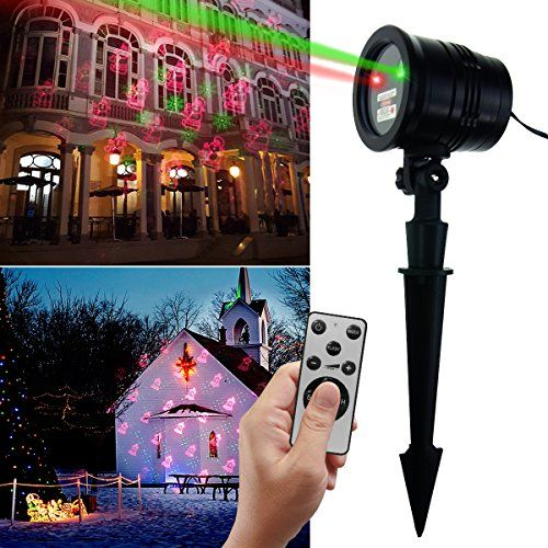 Christmas Laser Light Projector Popstar Waterproof Led Red Green Star Motion Fairy Shower M Best Christmas Laser Lights Led Party Lights Laser Lights Projector