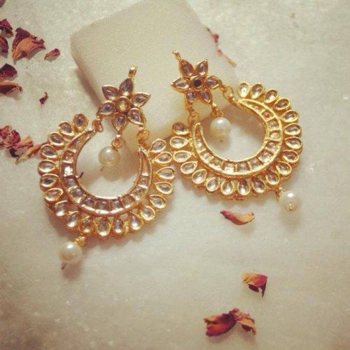 Elegant Chand Bali - Online Shopping for Earrings by Ze Panache ...