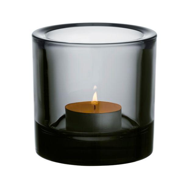 Iso Kivi kynttil�lyhty, harmaa 23,50€