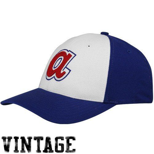 ... czech mlb 47 brand atlanta braves royal blue white cooperstown closer  flex fit hat bfc35 4b0a1 fef898439960