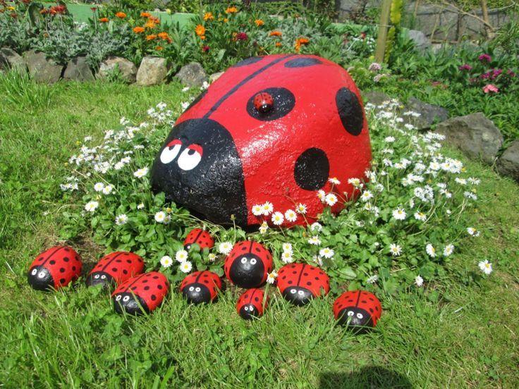 Über 50 kreative Wege: Painted Rock für die Gartenideen - Peggy Griffin Durbin #palettengarten