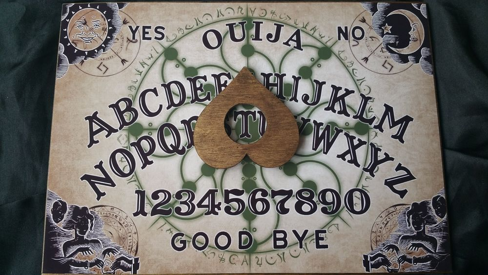 Details About Classic Ouija Board Esoteric Symbols Planchette