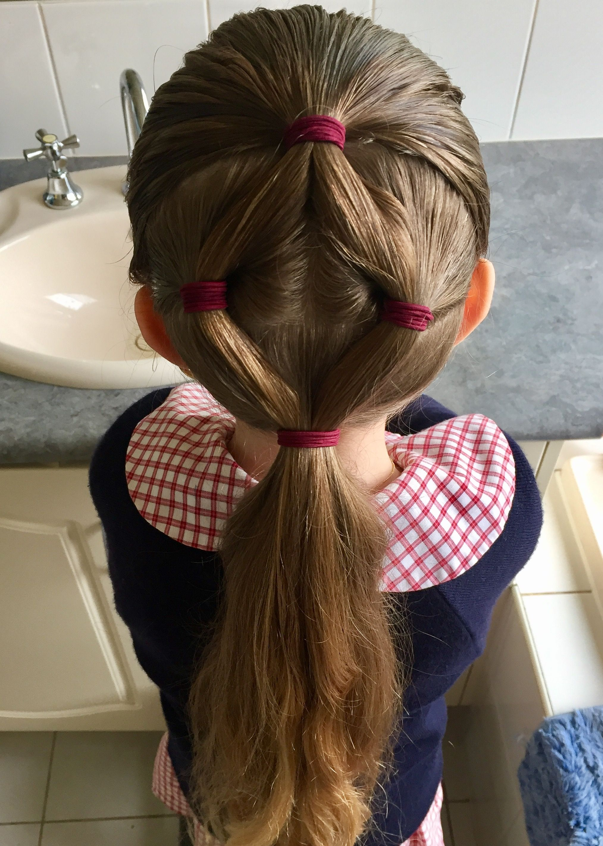 Little girls hair peinados pinterest girl hairstyles hair