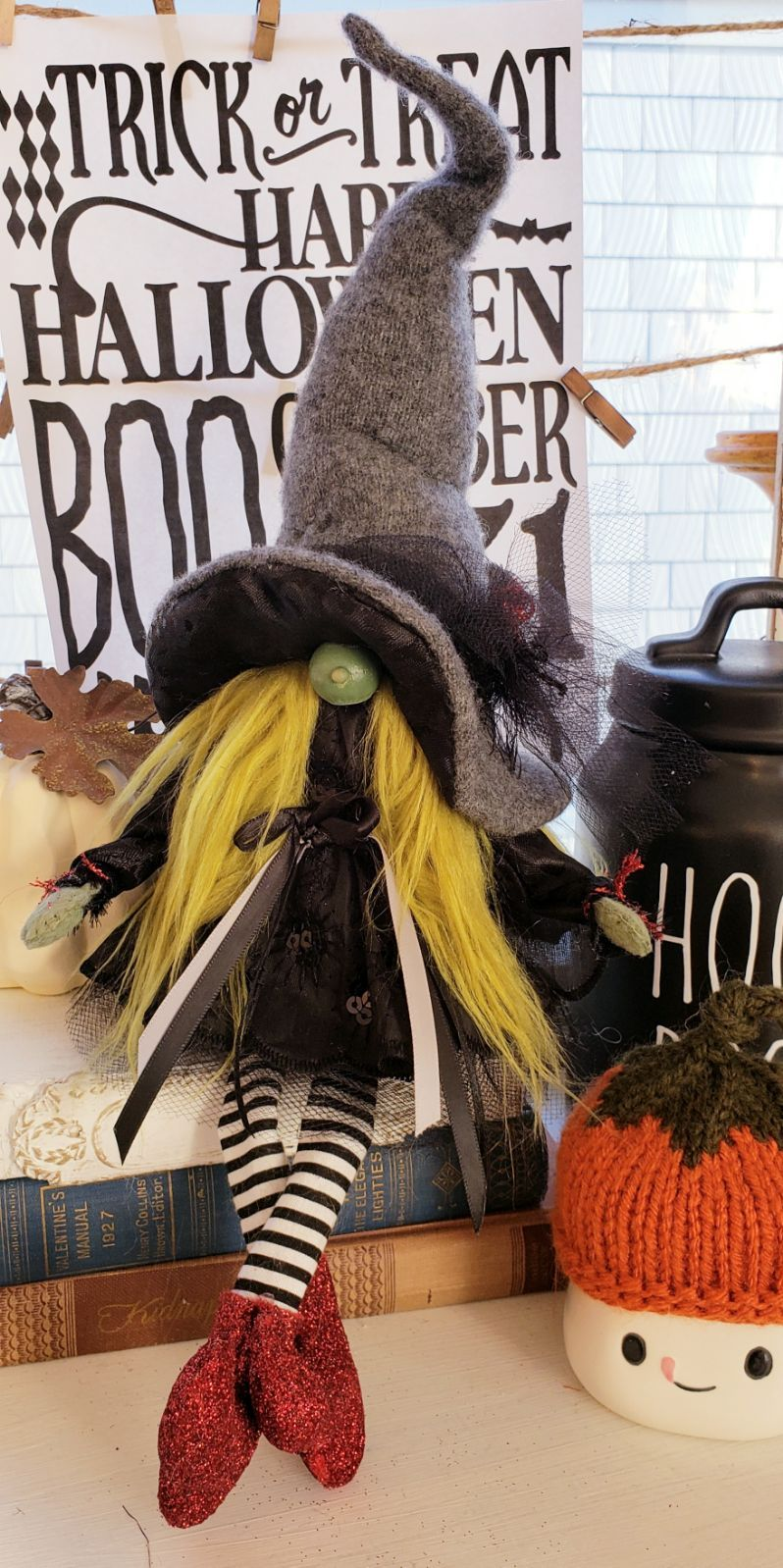 Witch Gnome in 2020 Gnomes, Crafts, Diy and crafts